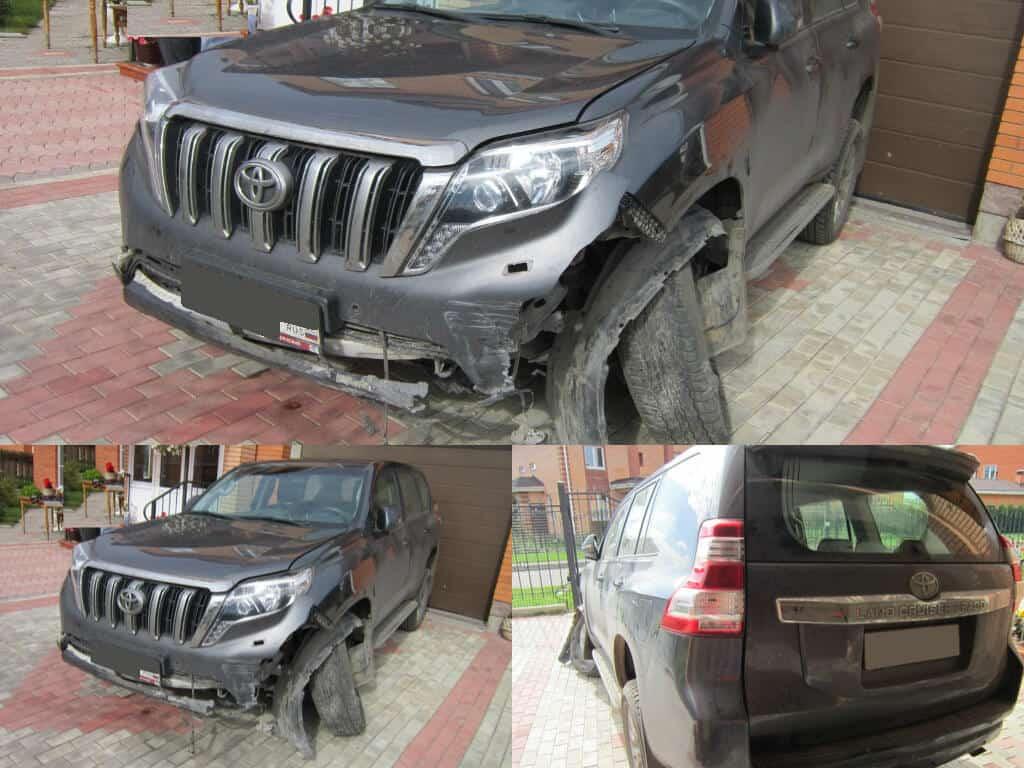 выкуп аварийных BMW